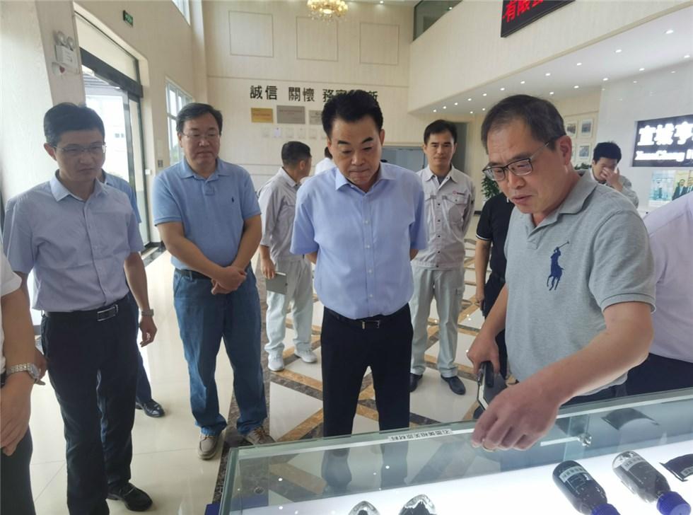 孔晓宏调研宣州区精细化工产业发展情况