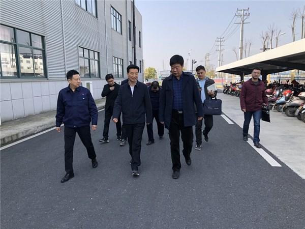 市委主要领导赴经开区(港口产业园)现场办公