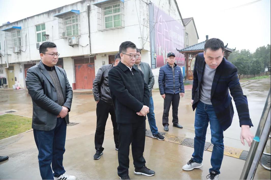 彭禧元在飞鲤镇调研时强调: 加大农村人居环境整治力度 提升城乡创建工作水平