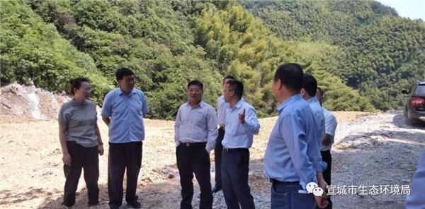 副市长牛传勇赴绩溪调研督导突出生态环境问题整改工作