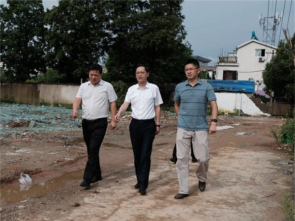 县委书记耿鹏调研指导城市建设工作