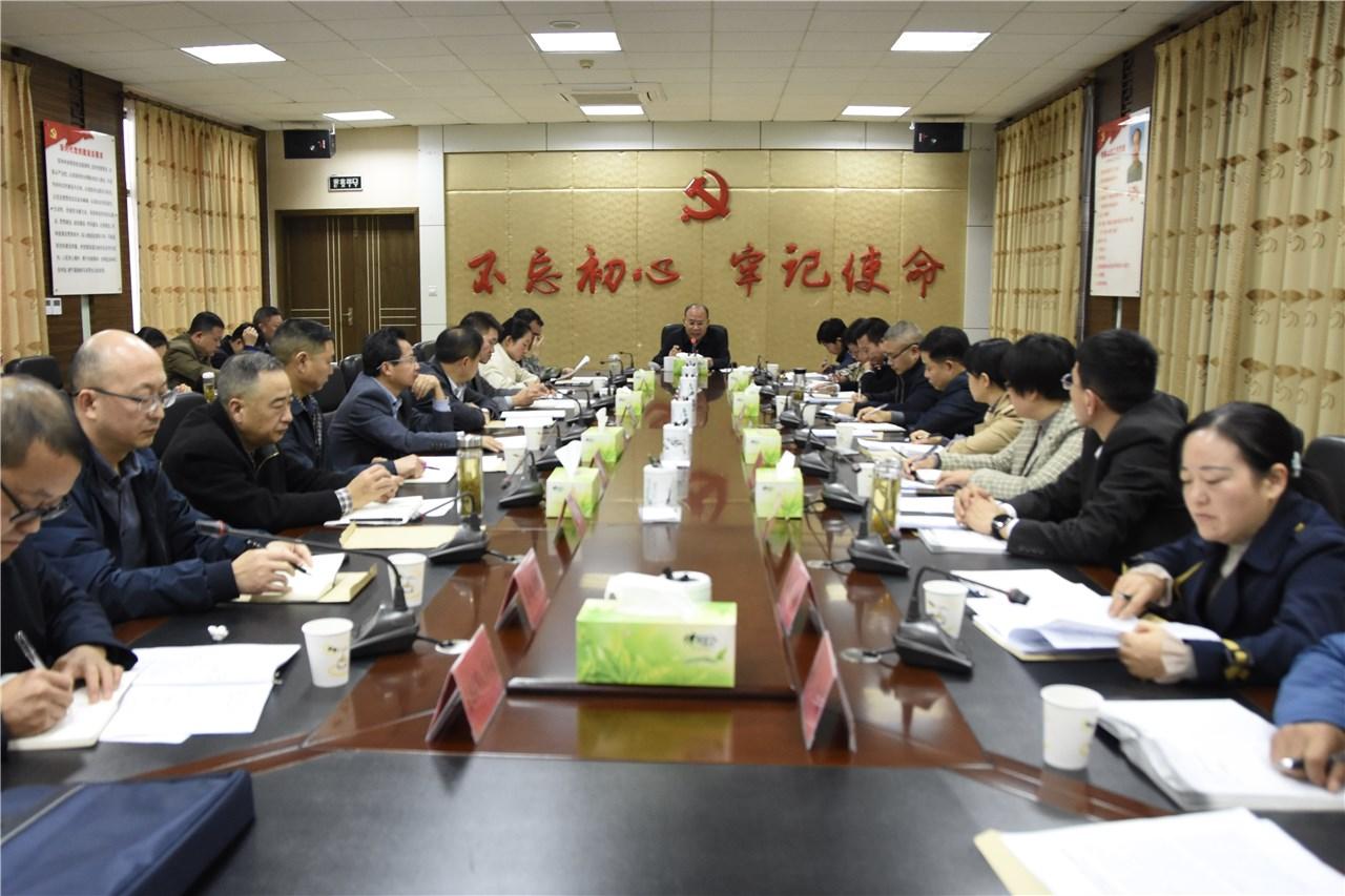 县委tui役军人事务工作领导小组第二次quan体会议召开