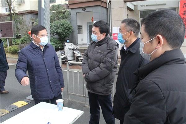 楊業峰、彭少鳴來旌德督查疫情防控工作