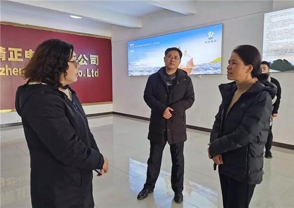吴忠梅调研工业企业